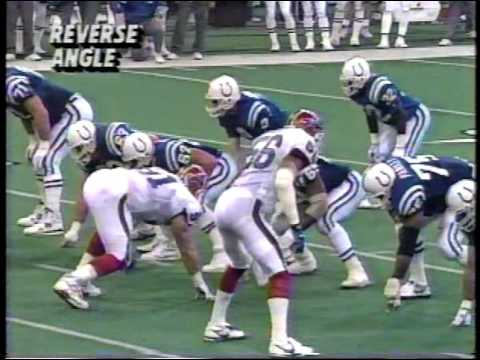 1991 week 16 Bills 12-2 at Colts 1-13 BUF-13  2H