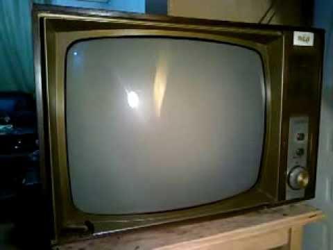 Televisor Antiguo Rca A Tubos  1970