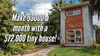 The Economics Of Building A Tiny Home In Los Angeles And How It Can Make You $3000-$4000 A Month!