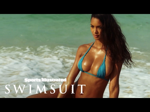 Lais Ribeiro Chases Waterfalls In Her Sumba Island Debut   Uncovered   Sports Illustrated Swimsuit