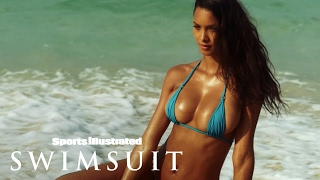 Lais Ribeiro Chases Waterfalls In Her Sumba Island | Sports Illustrated Swimsuit