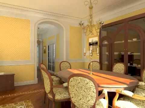 3D Classical Interior Design Medium Quality.flv