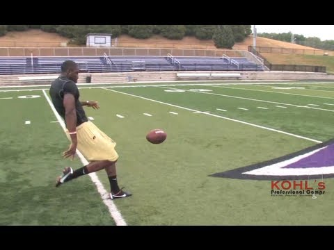 5.5 sec Hang Time | NFL Raiders Marquette King Crushes Punts | Kohl