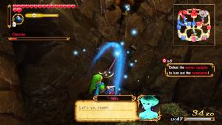 Hyrule Warriors: Link juggle loop combo
