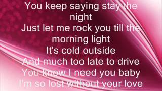 mariah stay the night lyrics