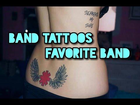 Band Tattoos + Favorite Band