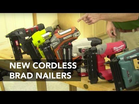 Cordless Brad Nailers