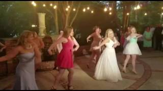 Wedding Flashmob w/ bride to Little Mix-Power FitDance