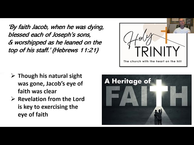 Lent Bible Study: A Heritage of Faith: session 2