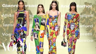 Why Versace's Spring 2018 Tribute Collection Was the Best Show Ever | Vogue