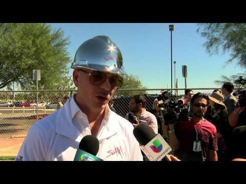 Pitbull and Las Vegas' SLAM, Charter School