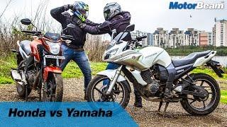 Video Honda vs Yamaha - Fanboys: Episode 2 | MotorBeam download MP3, 3GP, MP4, WEBM, AVI, FLV Oktober 2018