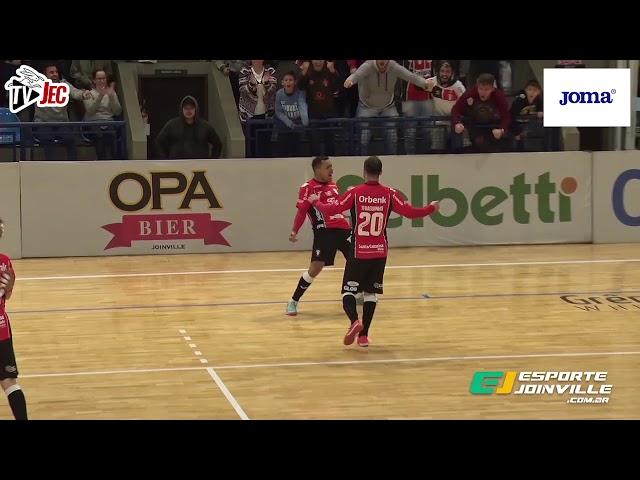TV JEC - JEC/Krona 2x3 Joaçaba - 5ª rodada turno Campeonato Catarinense