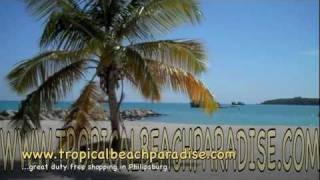 Sint Maarten Dutch Caribbean Most amazing beaches tropicalbeachparadise.com Caribbean Beach Villa