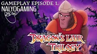 dRAGON'S LAIR TRILOGY, PS4 Gameplay Episode 1. Featuring Dragon's Lair