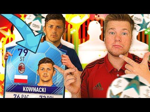 KOWNACKI PODBIJA LIGĘ MISTRZÓW!!! MILAN TO GLORY! FIFA 17