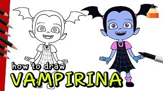 How To Draw Vampirina | Drawing Vampire