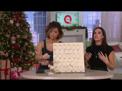 Alex and Ani Initial Charm Bangle on QVC