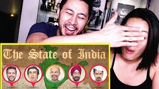 EIC: THE STATE OF INDIA | Reaction | East India Comedy | Jaby Koay | Danni Wang