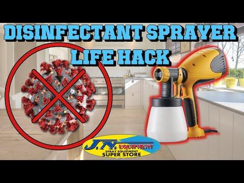 Disinfectant Sprayer LIFE HACK By JN Equipment
