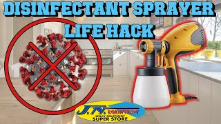 Disinfectant Sprayer LIFE HACK by JN Equipment