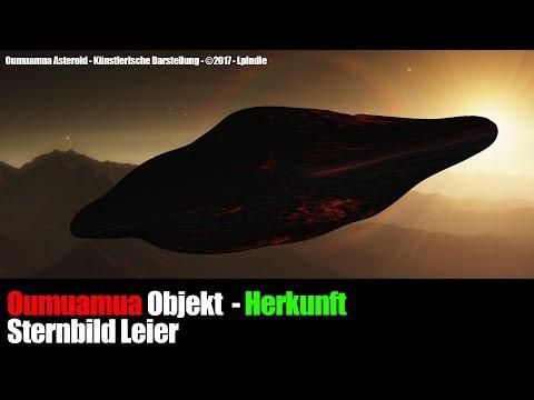 Herkunft Objekt A/2017 U1 - Oumuamua: System mit Exoplaneten?