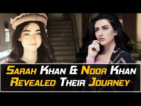 SARAH KHAN and NOOR KHAN LIVE | Beautiful Sisters | First Time Together