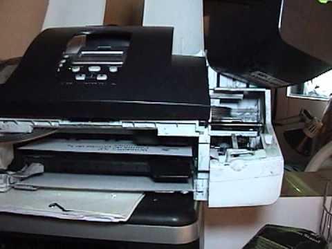 Hp J3680 Fax Escaner Fotocopiadora E Impresora Youtube