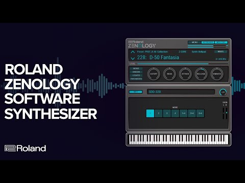 Roland ZENOLOGY Software Synthesizer: The ZEN-Core Synthesis System Virtual Instrument