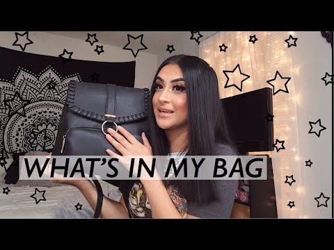 what's in my bag // xxrosaliee thumbnail