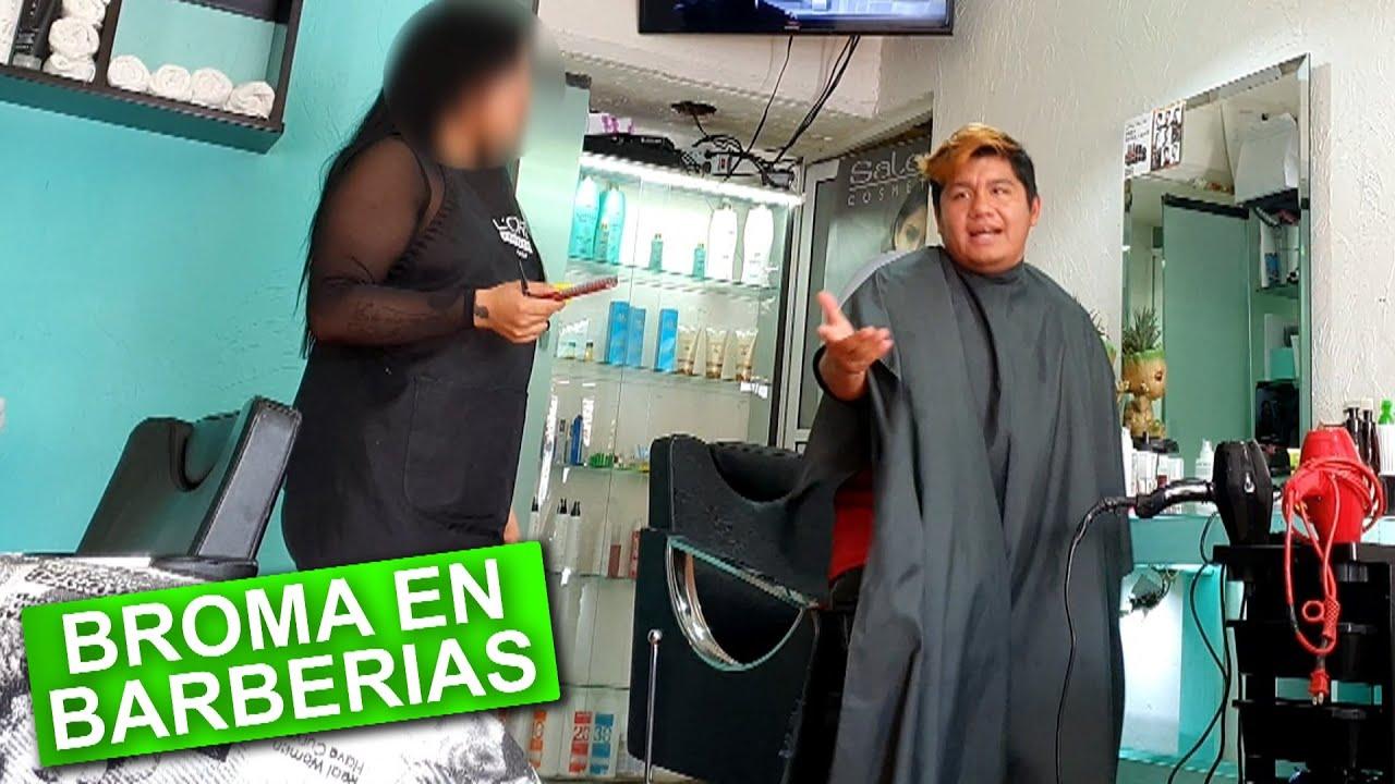 Insultando cortes de Cabello en Barberías 2 (BROMA)