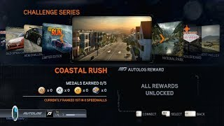 Need For Speed: The Run(2011): Challenge Series: Coastal Rush