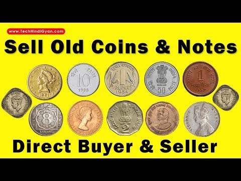 Sell Old Coins And Notes | Direct Buyer & Seller