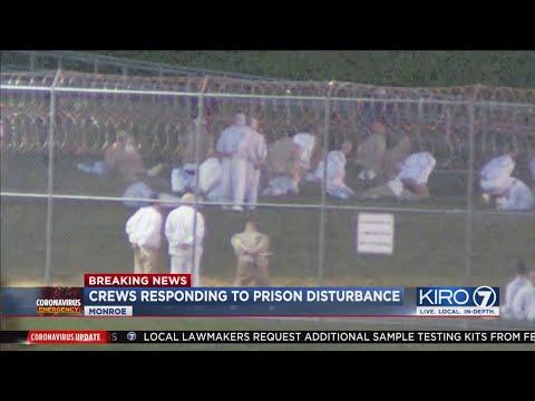 VIDEO: Inmates at Monroe Correctional Facility cause disturbance