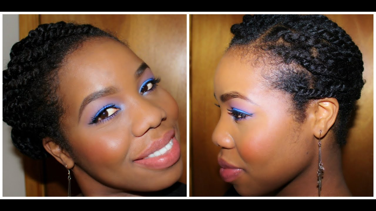 Quot Natural Hair Quot Cute Protective Style Youtube