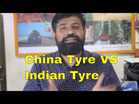 China Tyres VS Indian Tyre I Which One Is Worth Buying?