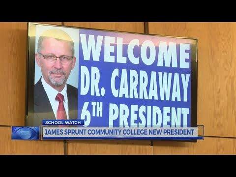James Sprunt Community College new president
