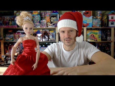 DC Wonder Woman Queen Hippolyta Holiday Barbie Doll Makeover Unboxing Review