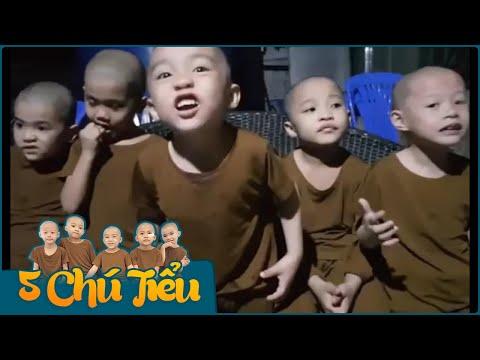 5 Chú Tiểu - ĂN TRÁI CÂY  PHÁP TÂM BỊ KHIẾU NẠI VÌ GẶP AI CŨNG CẮN :))