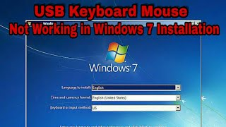 Usb keyboard mouse hang on installation of window 7 on new computer laptop with usb 3.0 and uefi fix
