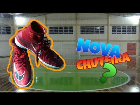 3ce4c7d0a1ebe REVIEW  CHUTEIRA NIKE MERCURIALX PROXIMO ll FUTSAL QUADRA - YouTube