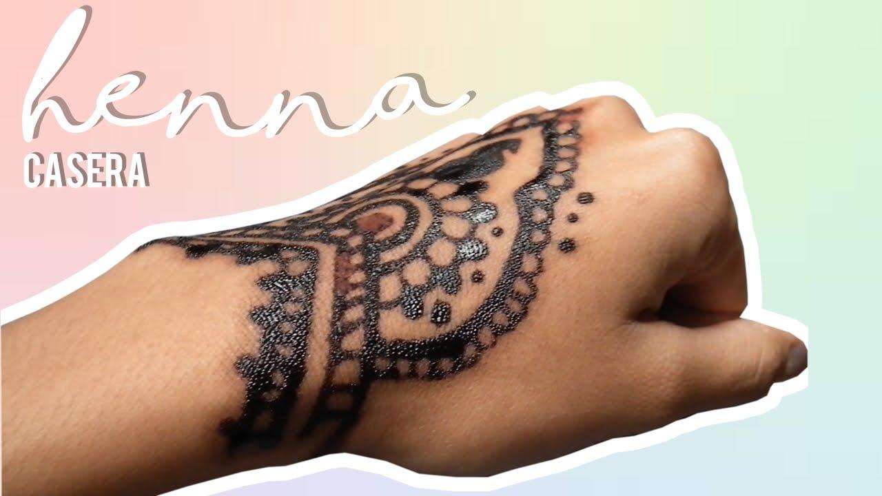 Cómo Hacer Pasta De Henna Sin Henna Diy Henna 2 Materiales