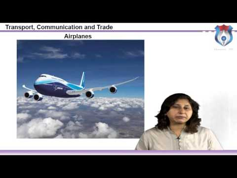 Transport, Communication and Trade