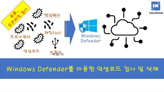 Windows Defender를 이용한 악성코드 검사 …