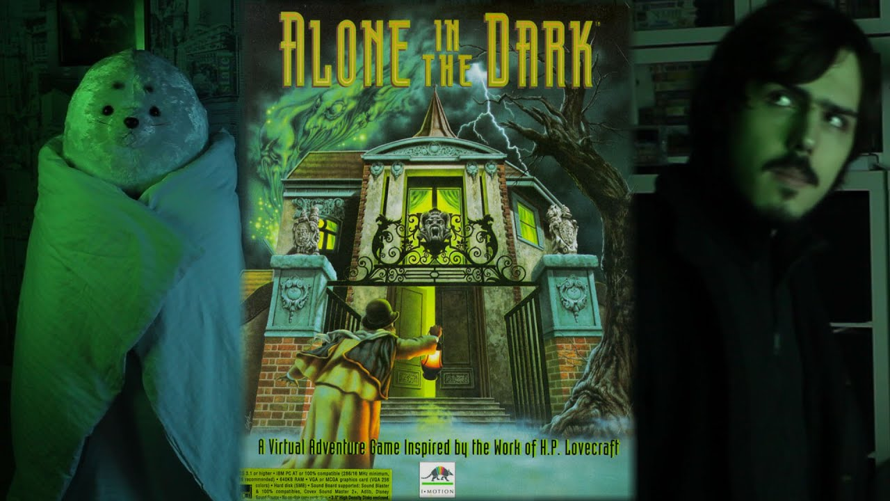 Alone In The Dark 1992 Dos Game Review Georggreat Youtube