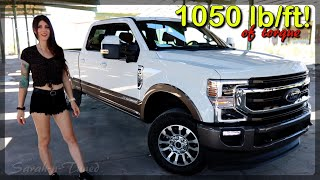 So Much Torque It Hurt! // 2020 Ford F350 King Ranch Review