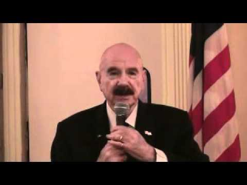 G. Gordon Liddy speaks at the Duchess County Conservative Party along with 911 Hard Hat Andy