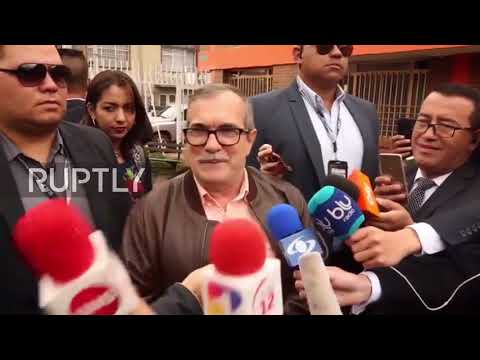 Colombia: Former FARC guerrilla leader casts vote in 'moving' pres. election