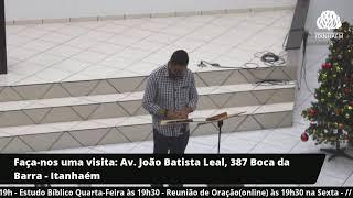 Estudo Biblíco 23/12/2020