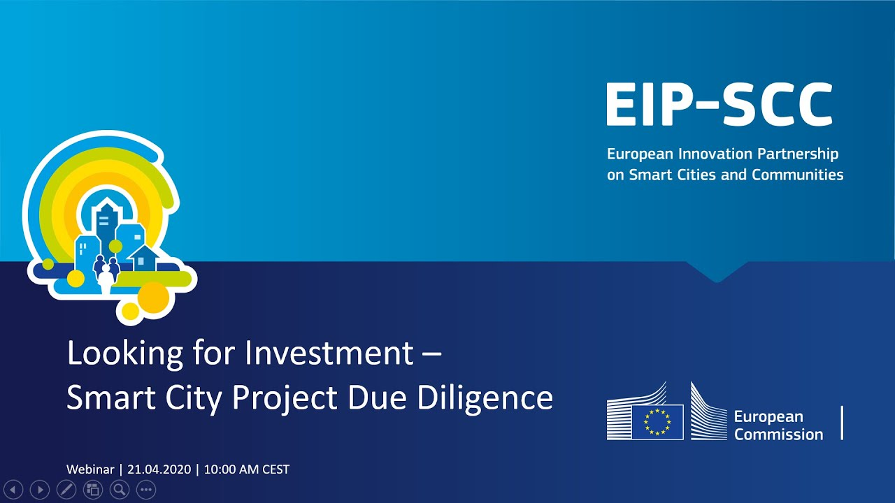 EIP SCC Webinar Looking for Investment Smart City Project Due Diligence
